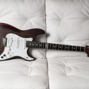 Strat luxe luthier france