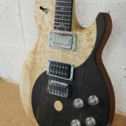 guitare custom ying yang L'accord du bois luthier oise paris 0