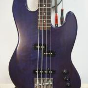 jazz bass short scale custom l'acord du bois luthier